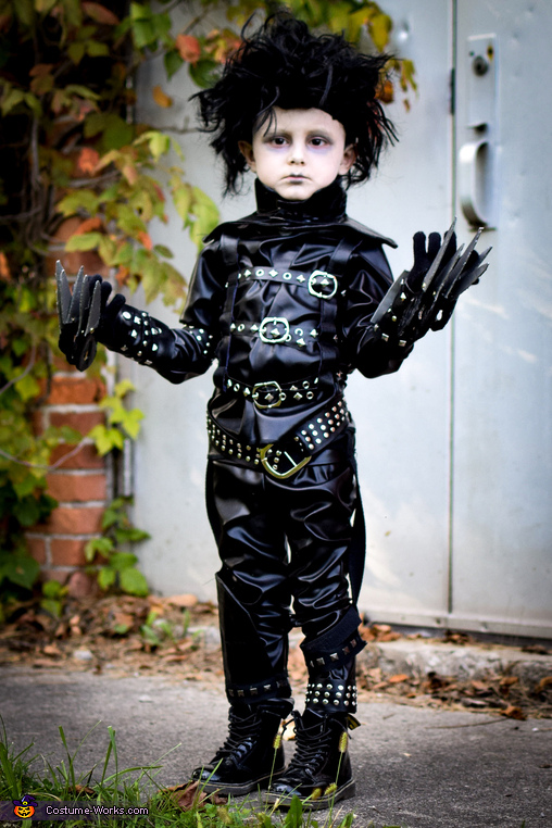 Edward Scissorhands Boy's Costume