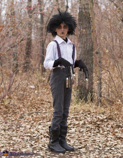 Edward, Edward Scissorhands Costume
