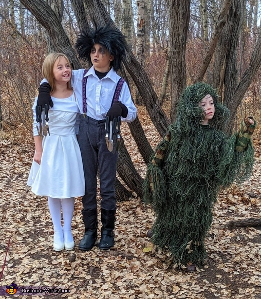 The sweetest Siblings, Edward Scissorhands Costume