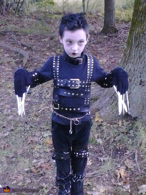 Edward Scissorhands Costume Idea for a Boy