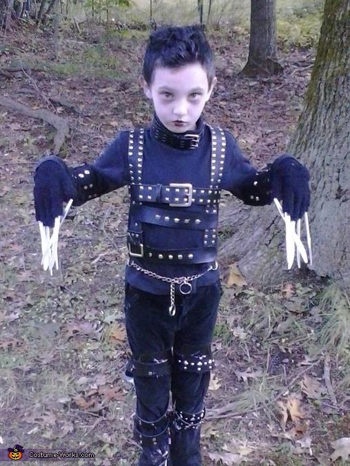 Edward Scissorhands Costume Idea for a Boy