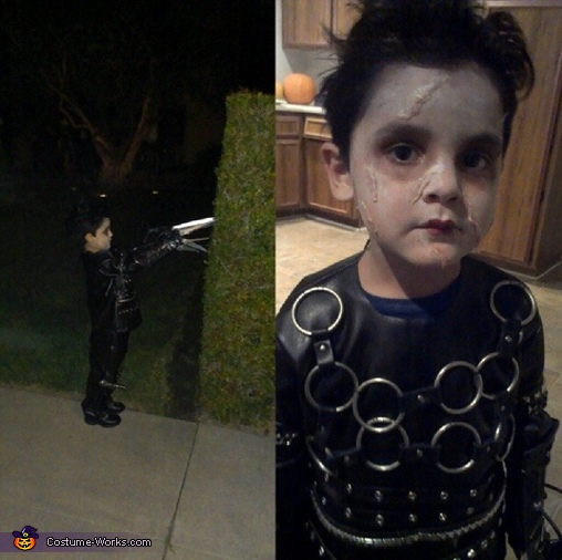 Cutting bushes , Little Edward Scissorhands Costume
