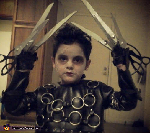 Little Edward Scissorhands Costume