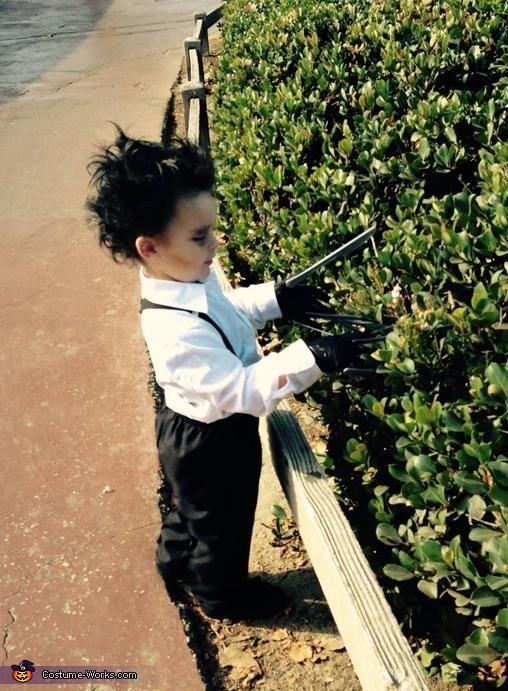 Edward Scissorhands Toddler Costume