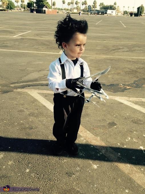 Looking good, Edward Scissorhands Toddler Costume