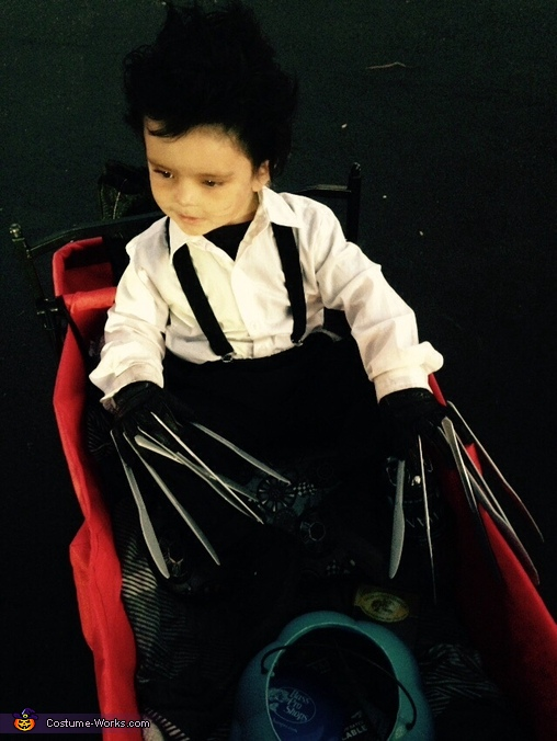 Tired legs, Edward Scissorhands Toddler Costume