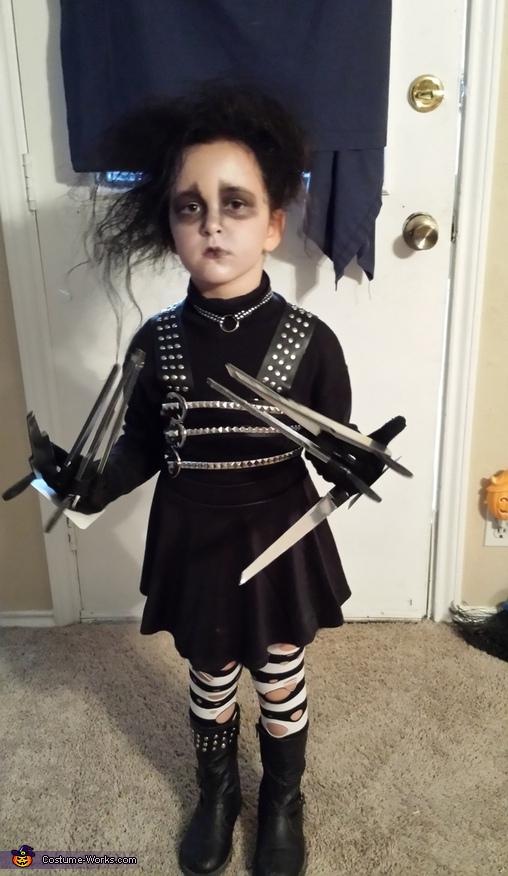 Edward Scissorhands Girl's Costume