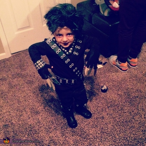Edward Scissorhands, Edward Scissorhands Costume