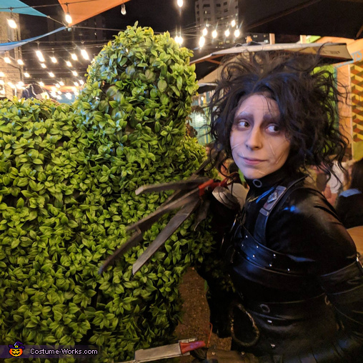 Edward Scissorhands and his Topiary Creation Costume