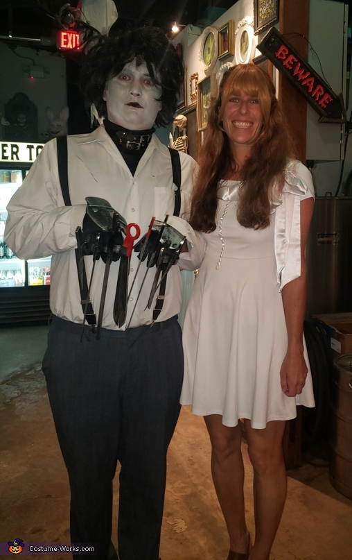Edward Scissorhands and Kim Costume