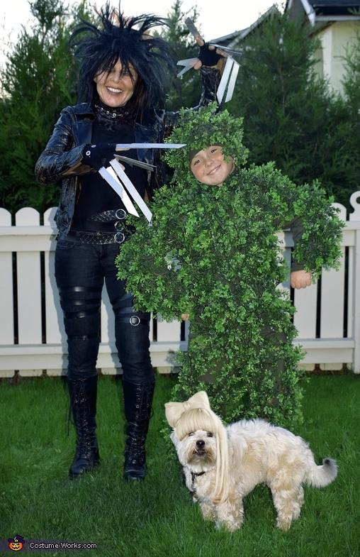 Edward Scissorhands, Bush and Hairdo Costume