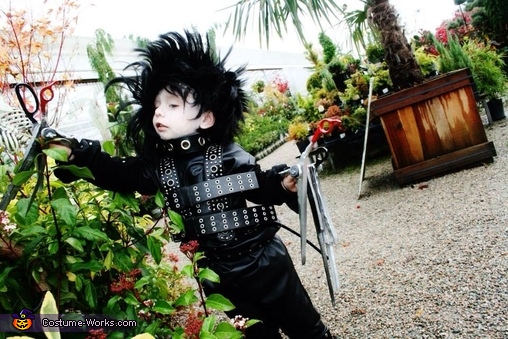 Edward Scissorhands Jr Homemade Costume
