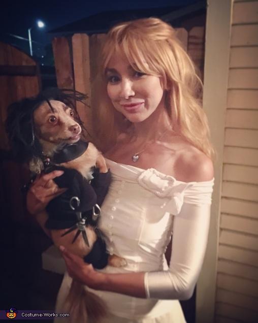 Edward ScissorPaws & Kim Boggs Costume