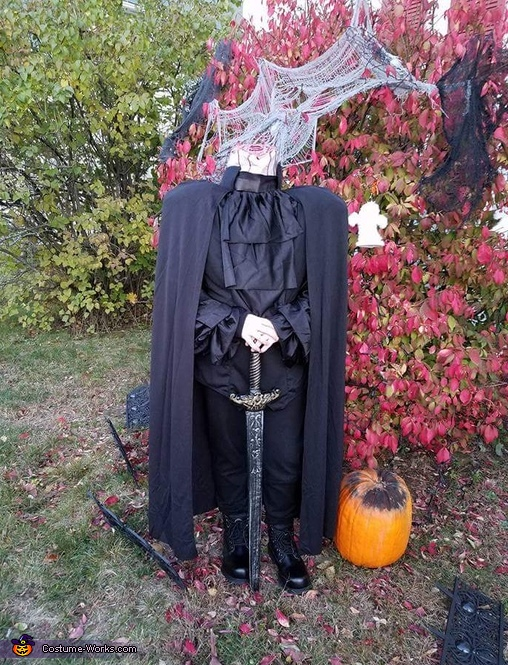 headless horseman, Girly Edward Scissorhands Costume