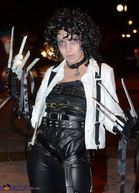 Edwardia Scissorhands Homemade Costume