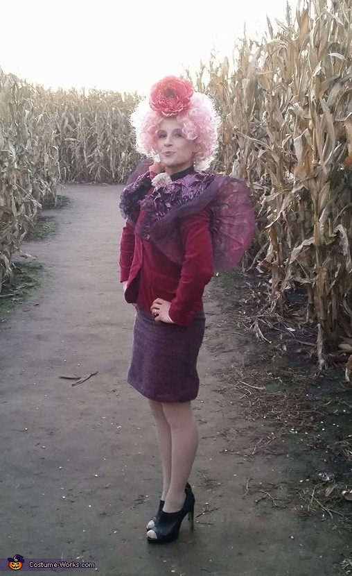 Effie Trinket and Seneca Crane Homemade Costume