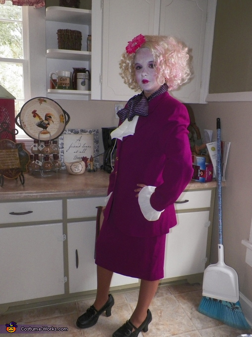 Effie Trinket from The Hunger Games Costume
