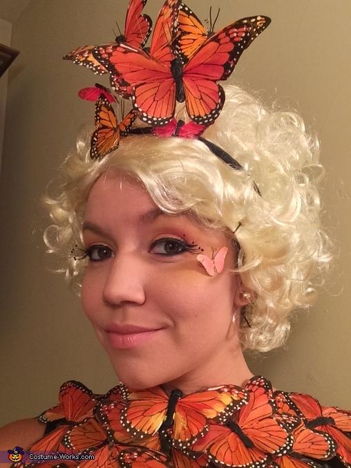 Effie Trinket's Butterfly Homemade Costume