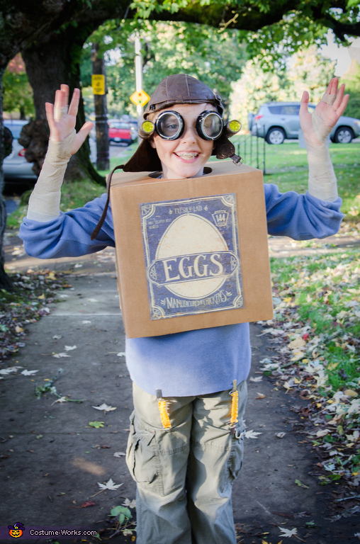 Eggs from the Boxtrolls Costume
