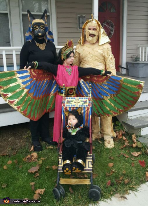 Egyptian Family Costume