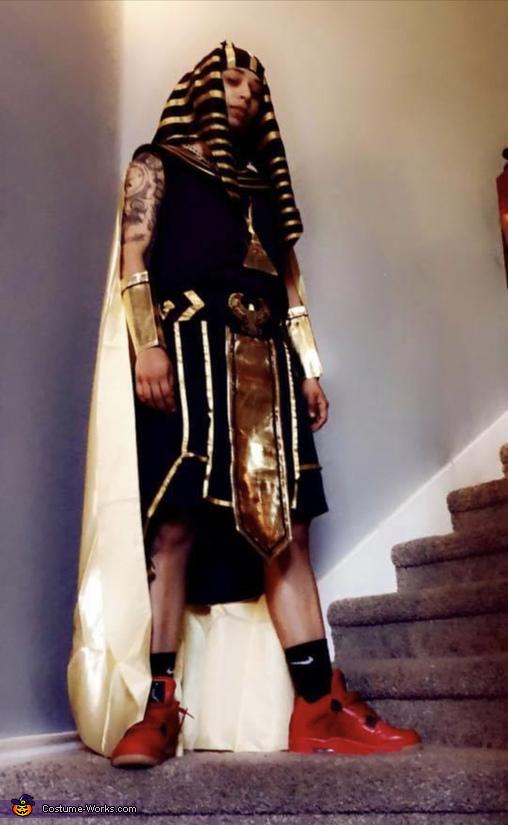 Egyptian King Dani, Egyptian King and Queen Costume