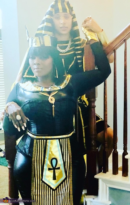 Egyptian King and Queen Costume