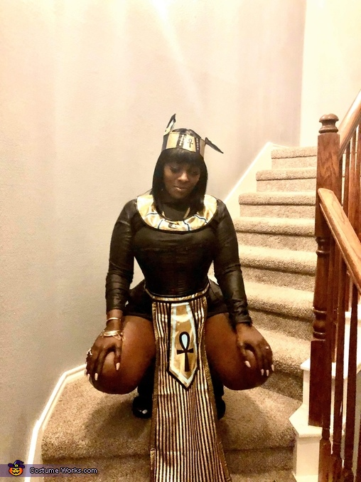 Egyptian Goddess Gabi, Egyptian King and Queen Costume