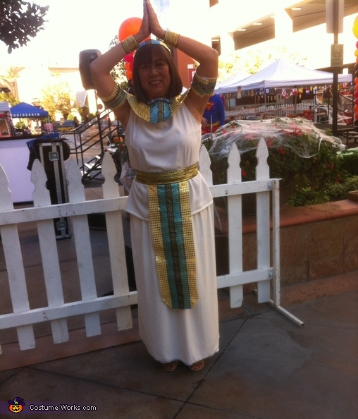 My original costume, Egyptian Princess Costume