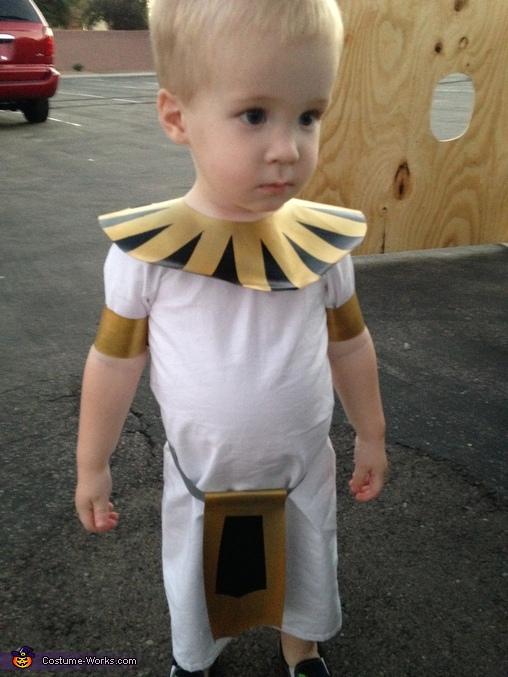 Egyptian Royalty Homemade Costume