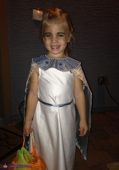 Egyptian Royalty Homemade Costume