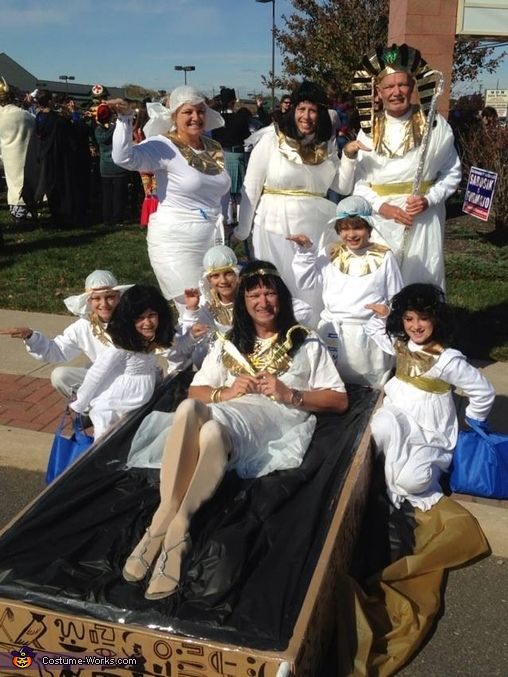 Ancient Egyptians Group Costume