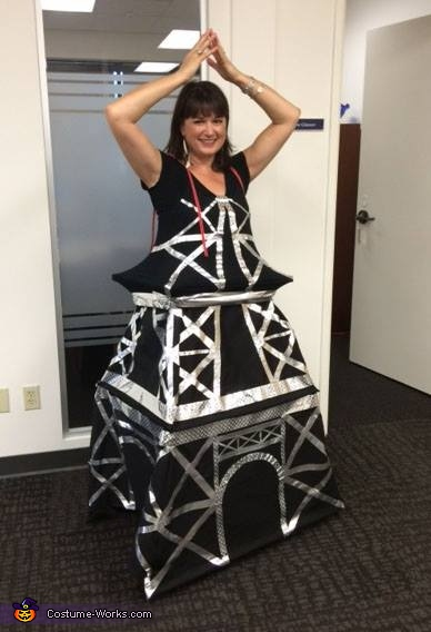 Eiffel Tower Costume