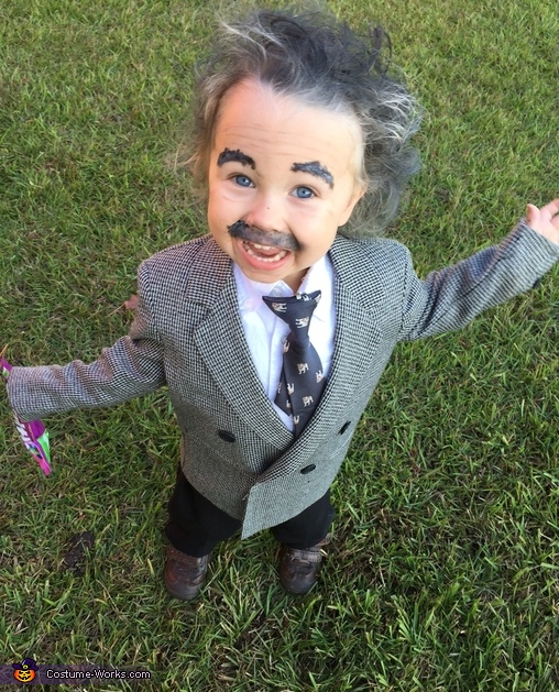 Einstein Homemade Costume