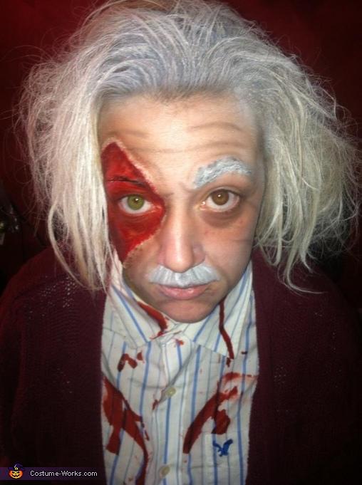 Einstein Zombie Costume