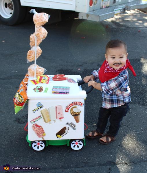 El Paletero Ice Cream Man Costume
