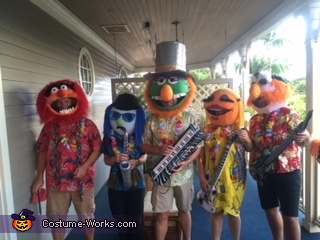 Daytime on Halloween, Electric Mayhem Band Costume