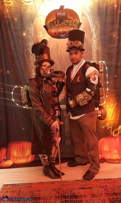 Electric Steampunk Costume