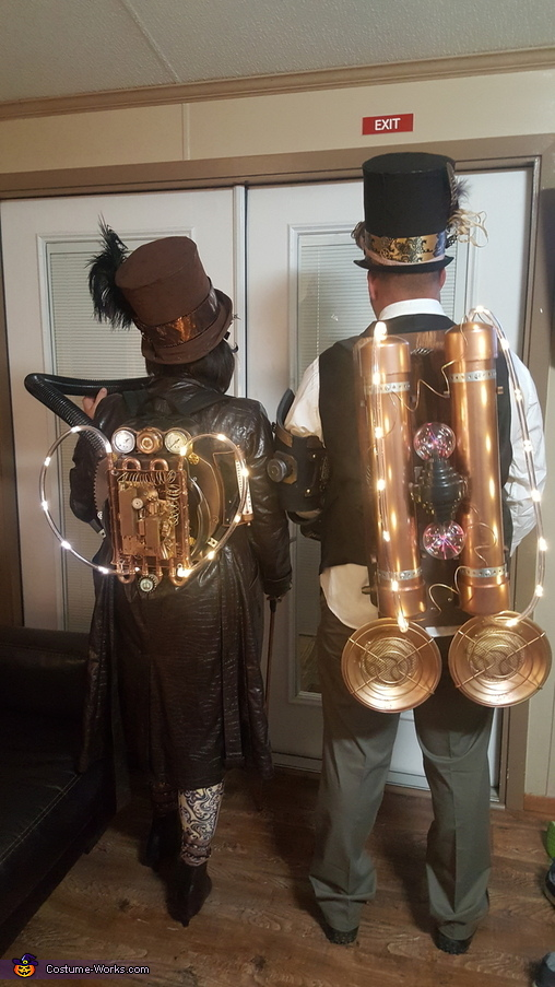 Electric Steampunk Homemade Costume