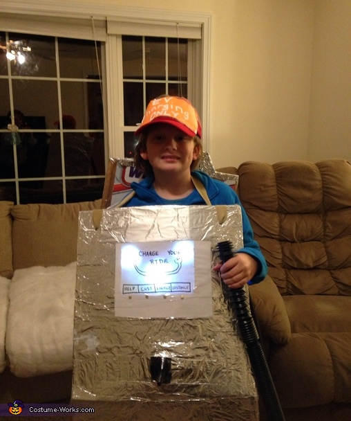 Electric Vehicle Charging Station Costume