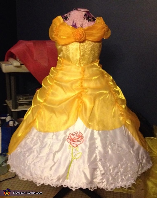 Electrical Light Parade inspired Belle Costume