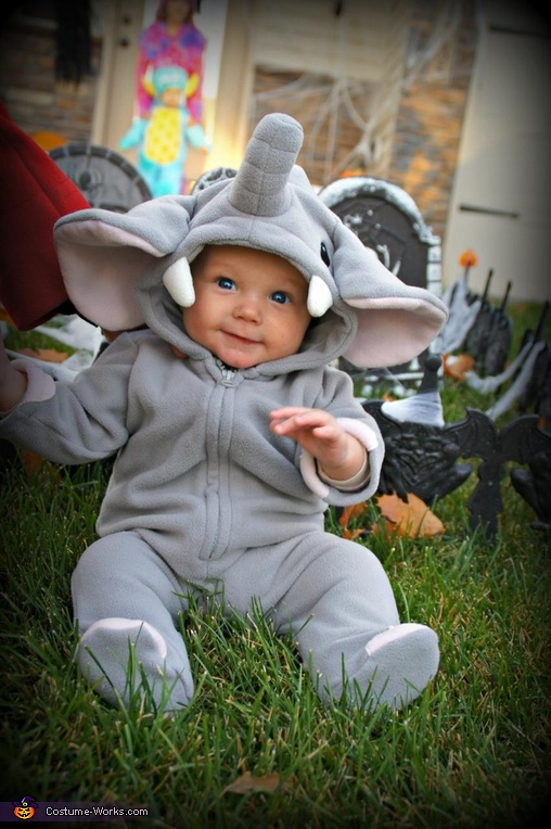 Elephant Baby Costume  sc 1 st  Costume Works & Cutest Elephant Baby Costume