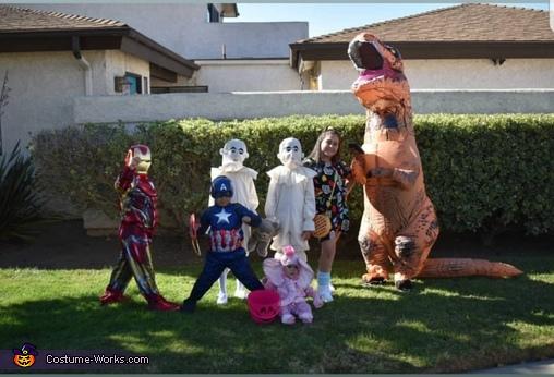 Eleven - Stranger Things Homemade Costume