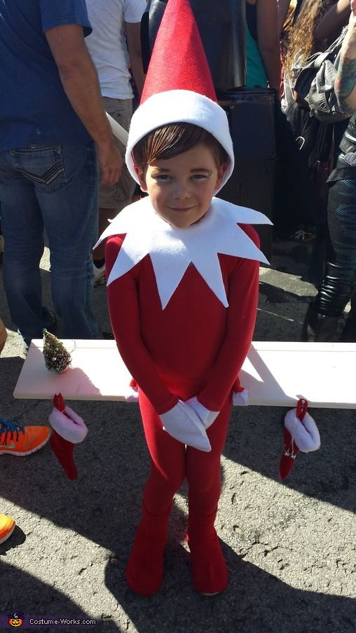 Elf on the Shelf Costume