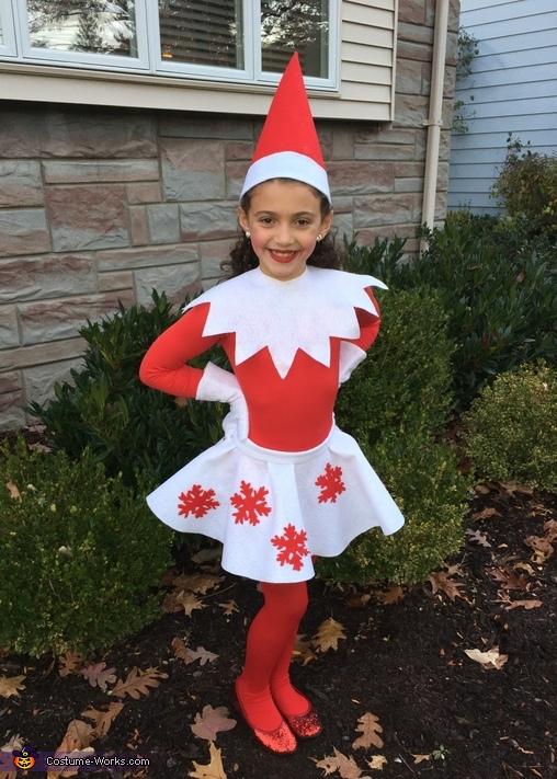 03ecbb4de Girly Elf on the Shelf Costume