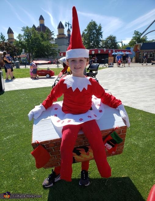 Elf on the Shelf Costume