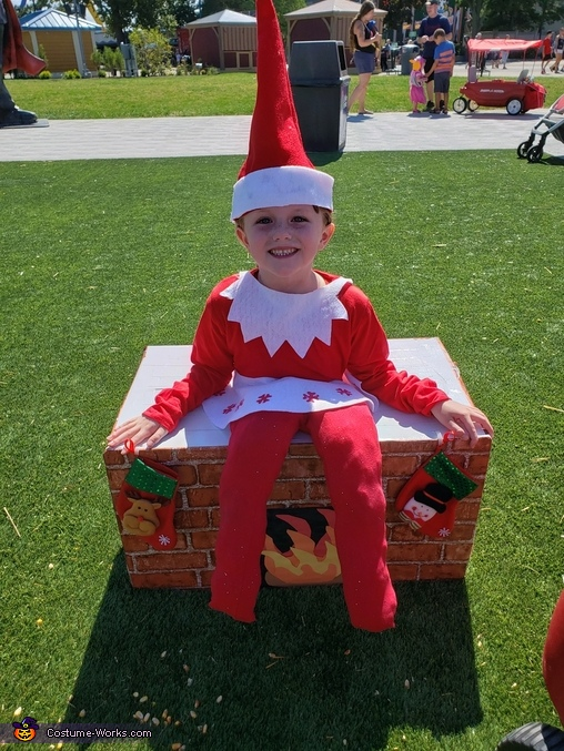 Elf on the Shelf Homemade Costume