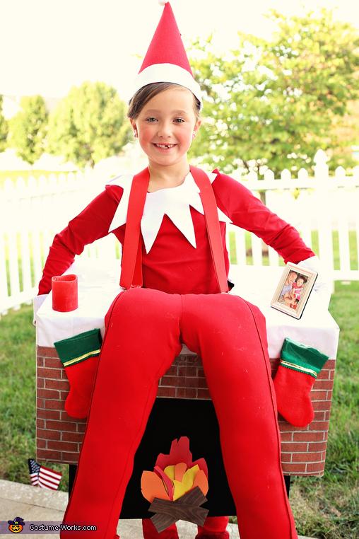 Elf on the shelf!, Elf on the Shelf Costume