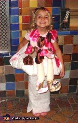 Elf on a Toadstool Costume