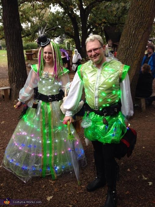 Elizabethan Ravers Couple's Costume