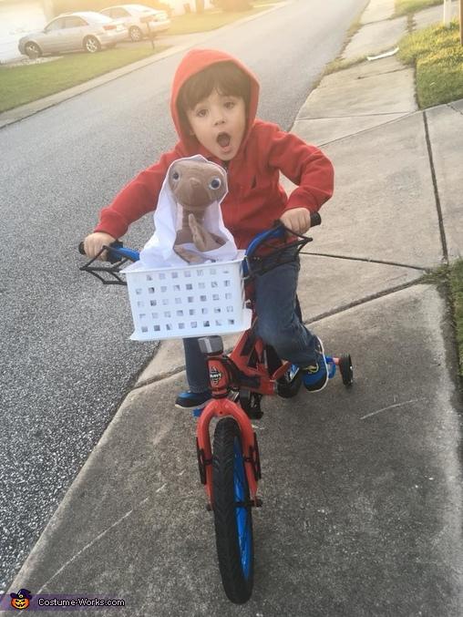 Elliot from E.T. Costume